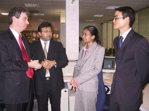 ICAEW President Visit in 2004